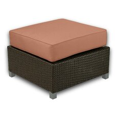 <strong>Patio Heaven</strong> Skye Ottoman with Cushion