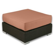 <strong>Patio Heaven</strong> Signature Ottoman with Cushion