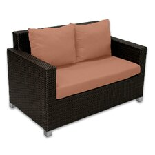 <strong>Patio Heaven</strong> Skye Venice Loveseat with Cushions