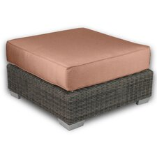 <strong>Patio Heaven</strong> Palisades Ottoman with Cushion