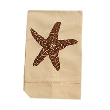 <strong>Lowcountry Linens</strong> Starfish Guest Towel