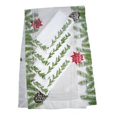 Pine Garland Runner and Pine Garland Dinner Napkin Set