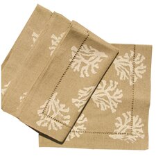 Coral Dinner Napkin (Set of 4)