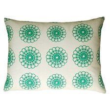 <strong>Artgoodies</strong> Doily All Over Pattern Block Print Accent Pillow