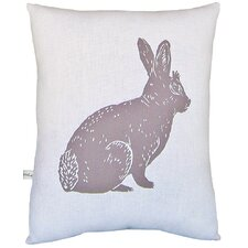 <strong>Artgoodies</strong> Bunny Block Print Squillow Accent Pillow