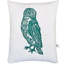 <strong>Artgoodies</strong> Owl Block Print Squillow Accent Pillow