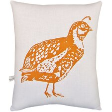 Quail Block Print Squillow Accent Pillow