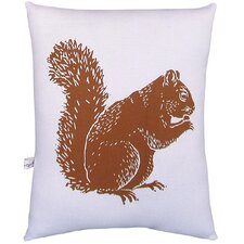 <strong>Artgoodies</strong> Squirrel Block Print Squillow Accent Pillow