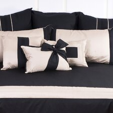 Tux Black Breakfast Pillow