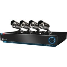 Trublue 8 Channel DVR with 4 Cameras