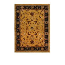 Tempest Light Gold/Black Rug
