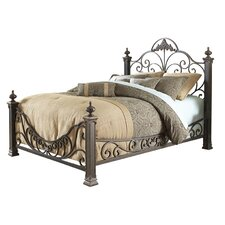 Baroque Metal Bed