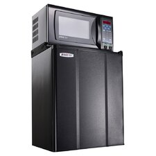 2.4 cu. Ft Refrigerator with 0.7 cu ft Microwave Oven