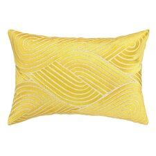 Osaka Waves Embroidered Decorative Pillow