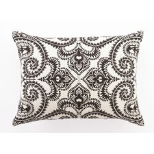 Amalfi Down Filled Embroidered Linen Pillow