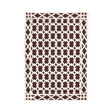 Robertson Chocolate Hook Rug