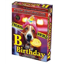 B is for Birthday Jigsaw Puzzle Game