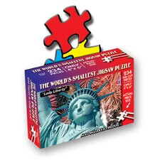"""Lady Liberty"" World's Smallest Jigsaw Puzzle"