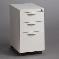 <strong>Great Openings</strong> Mobile Pedestal with Two Box Drawers and One File Drawer