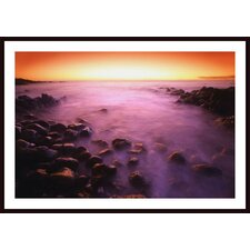 Sunset Over Water, Hawaii, Usa Wall Art by Don Hammond