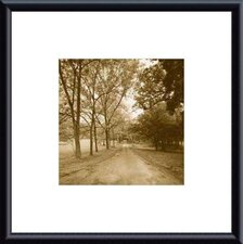Country Road by Wampler Metal Framed Art Print