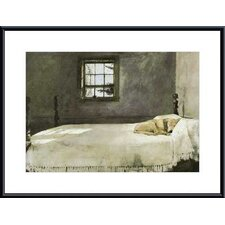 Master Bedroom by Andrew Wyeth Metal Framed Art Print