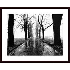 'Jogger, Westport, Connecticut' by Henri Silberman Framed Photographic Print
