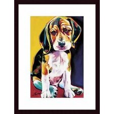 Otis Wood Framed Art Print