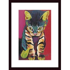 <strong>Barewalls</strong> Squirt Wood Framed Art Print
