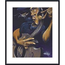 <strong>Barewalls</strong> Movin' Strings Metal Framed Art Print