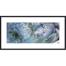 Dahlias #6 Metal Framed Art Print