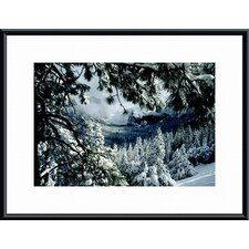 <strong>Barewalls</strong> First Snow Metal Framed Art Print