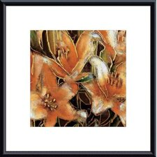 <strong>Barewalls</strong> Apricot Dream II Metal Framed Art Print