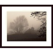 <strong>Barewalls</strong> Parish Hill Barn Wood Framed Art Print