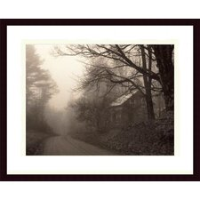 <strong>Barewalls</strong> Parish Hill Road Wood Framed Art Print