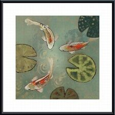 <strong>Barewalls</strong> Floating Motion II Metal Framed Art Print