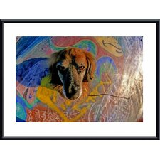 Look Into My Eyes Metal Framed Art Print