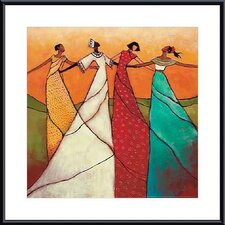 'Unity' by Monica Stewart Framed Painting Print