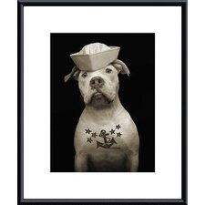 Fluke Metal Framed Art Print