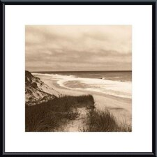 Wellfleet Dune Metal Framed Art Print