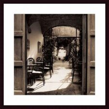 <strong>Barewalls</strong> Caffe' Spello Wood Framed Art Print