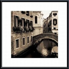 Ponti di Venezia No. 2 Metal Framed Art Print