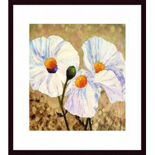 <strong>Barewalls</strong> Paper Whites Wood Framed Art Print