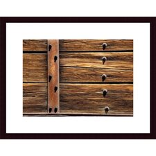 <strong>Barewalls</strong> Metal, Wood and Nuts Framed Art Print