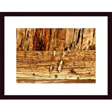 <strong>Barewalls</strong> Wood Abstract Wood Framed Art Print