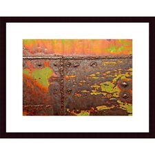 <strong>Barewalls</strong> Welding Abstrac, Wood Framed Art Print