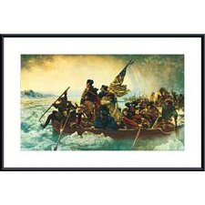 Washington Crossing the Delaware by Emanuel Gottlieb Leutze Framed Painting Print
