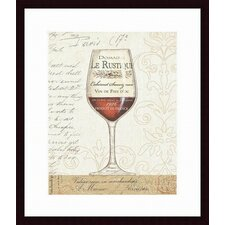 <strong>Barewalls</strong> Wine by the Glass I Framed Art