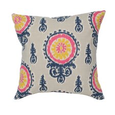 Medallion Birch Cotton Pillow