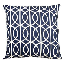 <strong>Elisabeth Michael</strong> Trellis Cotton Pillow